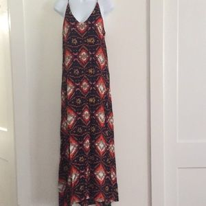 Chelsea and Theodore long Dress Small
